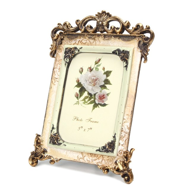 Ornate Antique Photo Frame European Style Photograph Pictures Frame ...