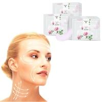 LENI 8Pcs Rose Essence Eye Mask Moisture Anti-aging Collagen gel Patches Dark Circle Remover Skin Care Sleep Mask Creams