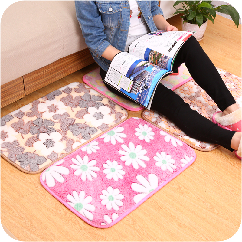 High quality Non-slip Bath Mat Fashion carpet doormat bedroom toilet bathroom door mat for home decor,Free shipping.