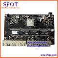 8 ports 10/100/1000M reverse poe smart switch, with Web management, Vlan