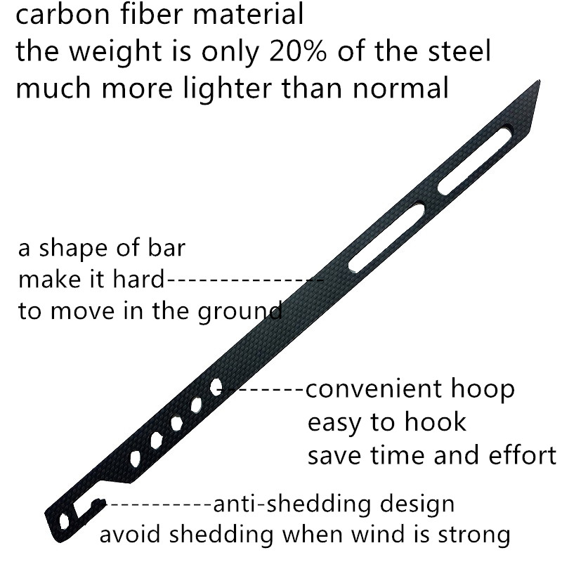 Military Grade Carbon fiber Multi functional Ultralight Beach Tent Stake Desert Tent Pegs Snowfield Tent Peg-in Furniture Accessories from Furniture on ...  sc 1 st  AliExpress.com & Military Grade Carbon fiber Multi functional Ultralight Beach Tent ...
