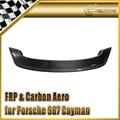 EPR Car Styling For Porsche 987 Boxster Techartt Style Carbon Fiber Rear Spoiler Wing