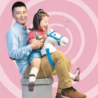 Infant Baby Fun Interactive Simulation Riding Sounding Plush Toys Children Baby Creative Interactive Toy D