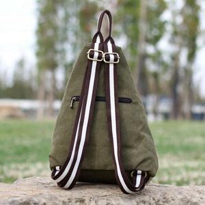 Image 3 - Nuovo stile nazionale di modo della tela di canapa zaino portatile borsa delle signore di sacchetto di spalla del Burlone borsa studente