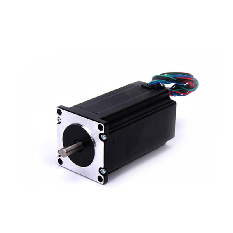 High torque 57 Stepper Motor 2 PHASE 4-lead Nema23 motor 57BYGH 100MM 4.4A 3.1N.M LOW NOISE  motor for CNC XYZ 57 stepper motor 57 extension 100 2 5nm 4 8 p mcu controlled spool