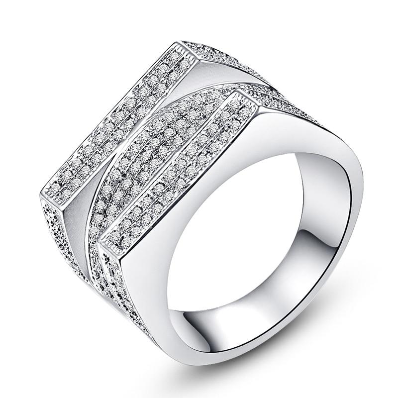 de lujo anillos de compromiso