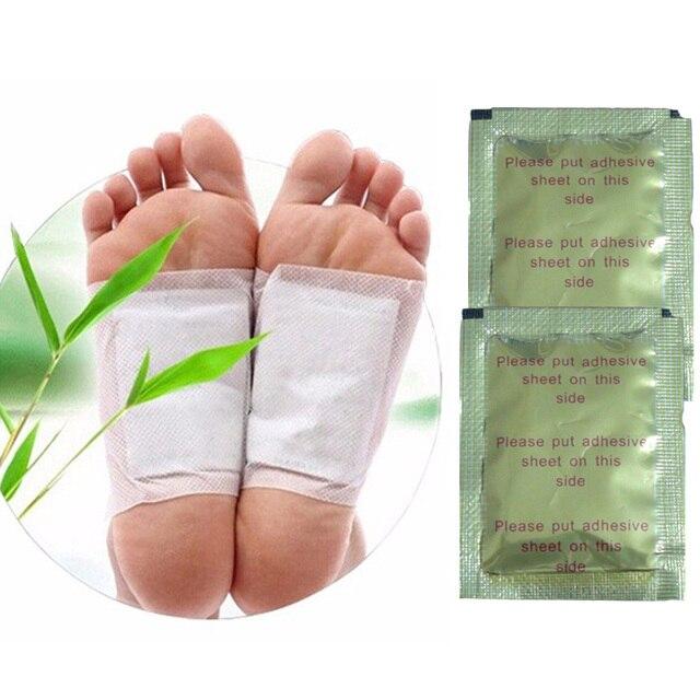 100 pcs detox foot patch pads detoxify toxins fit health care.