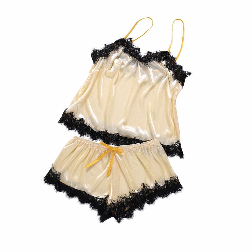 Микро Бикини Для женщин кружева Сексуальная страсть белье летняя Ночная сорочка Ночная комплект из 2 предметов зеленый полиэстер Lenceria Mujer 19May8 P40