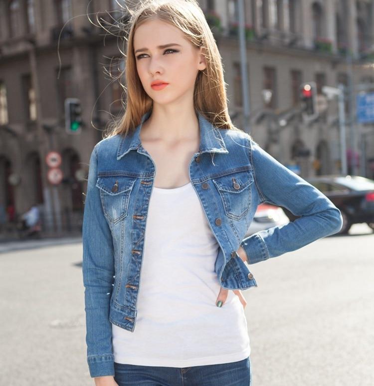 Aliexpress.com : Buy Denim Jackets Short Women 2017 Autumn New Big ...
