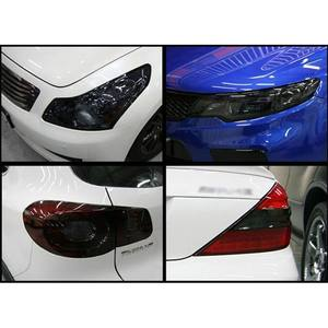 Image 4 - 100*30cm Auto Car Light Headlight Taillight Film Sticker Easy Stick Car Motorcycle  Decoration 8 Colors