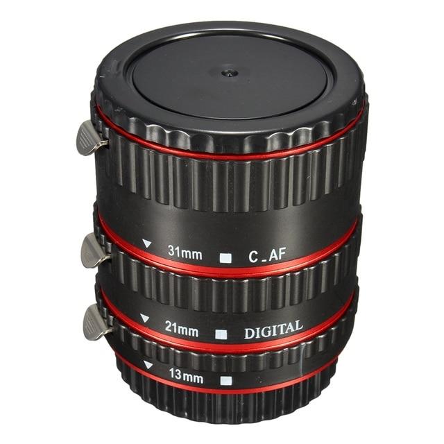 Montagem de metal Auto forFocus AF Macro Extension Tube/Anel para Kenko para Canon EF-S Len 100D 6D 7D 550D 600D 60D 70D T5i T4i T3i T2i