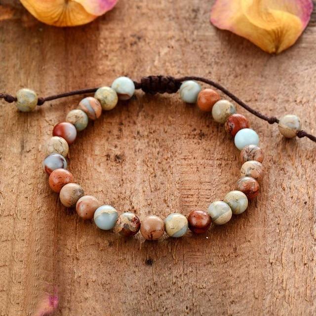 Bracelets 6MM Natural...