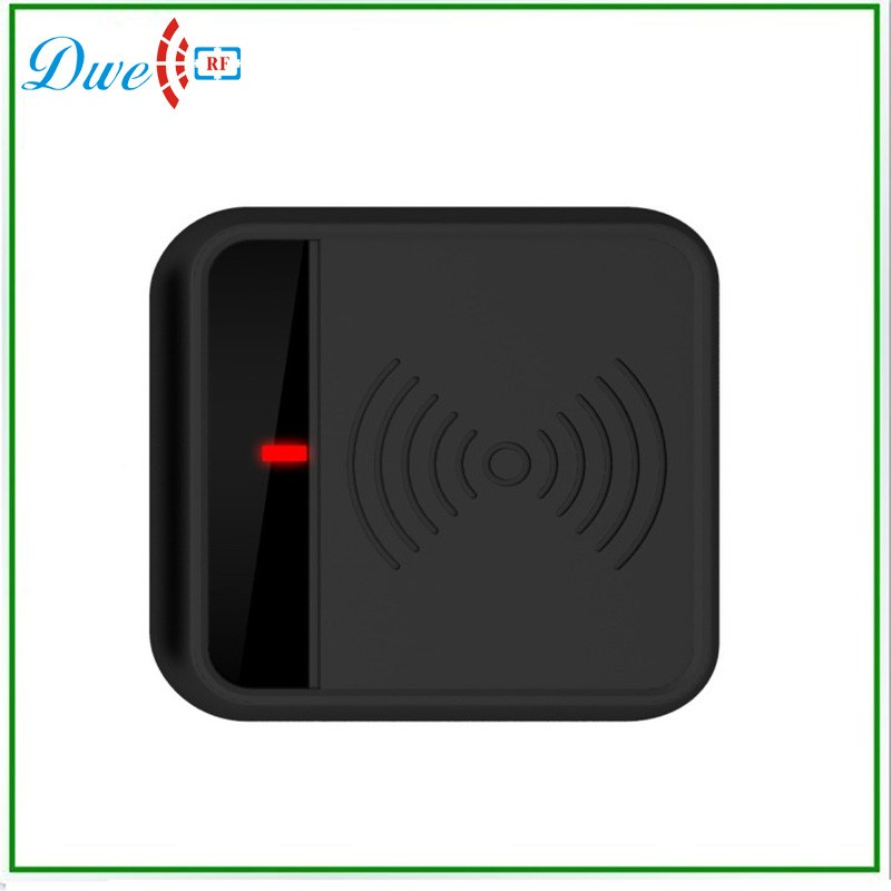 DWE CC RF 125KHZ EM/ID RFID Reader For Access Control Support EM4100/TK4100 Card/Tags dwe cc rf 125khz em id wiegand 26 outdoor access control reader support tk4100 card ip65 002m 26
