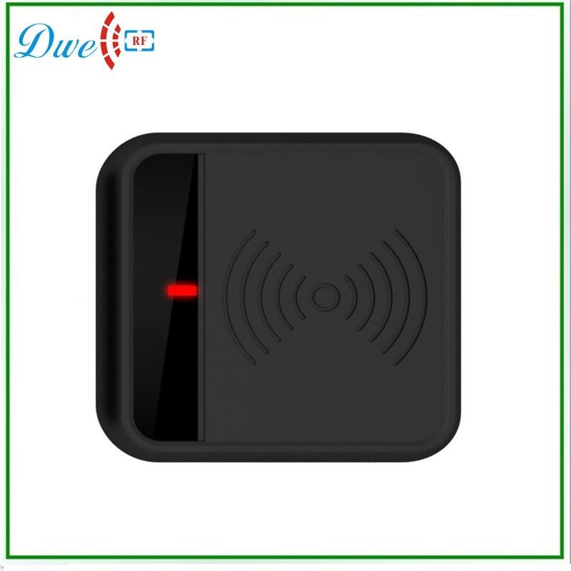 DWE CC RF 125KHZ EM/ID RFID Reader For Access Control Support EM4100/TK4100 Card/Tags