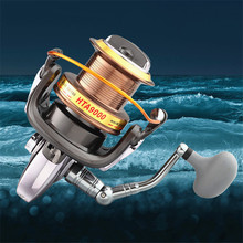 Spinning Fishing Reel Metal Coil Spinning Reel Boat Rock Fishing Wheel Spinning Reel Left and Right Hands are Interchangeable цена