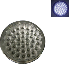 37LED Round White Reading Lamp Car Interior Dome Light for 12V Auto Van Vehicle Truck