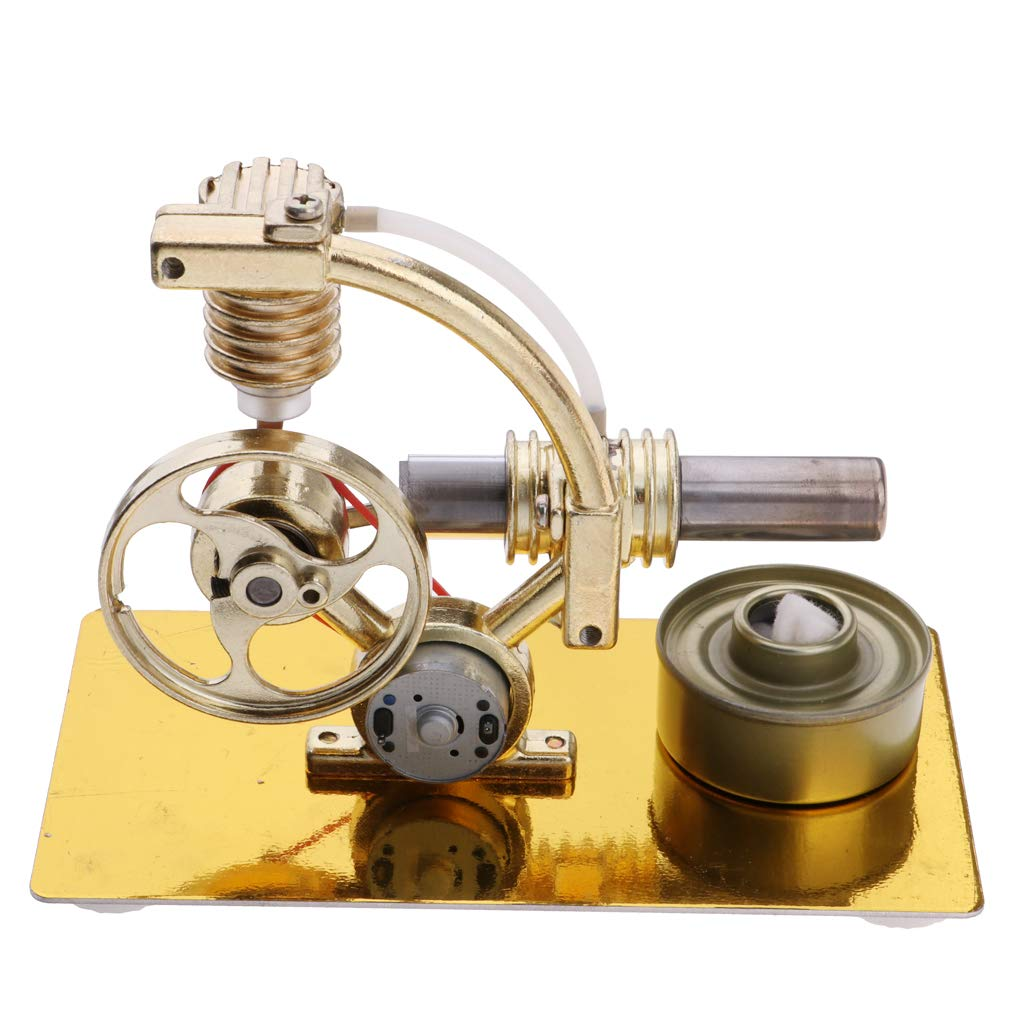 DIY Hot Air Stirling Engine Steam Generator Model Physics Experiment Lab Supplies Science Educational Toys Gift for Children