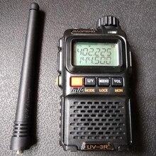 4pcs BF 3R+PLUS dual band VHF UHF walkie talkie Portable 3R walkie talkie radio 1500mAh Battery