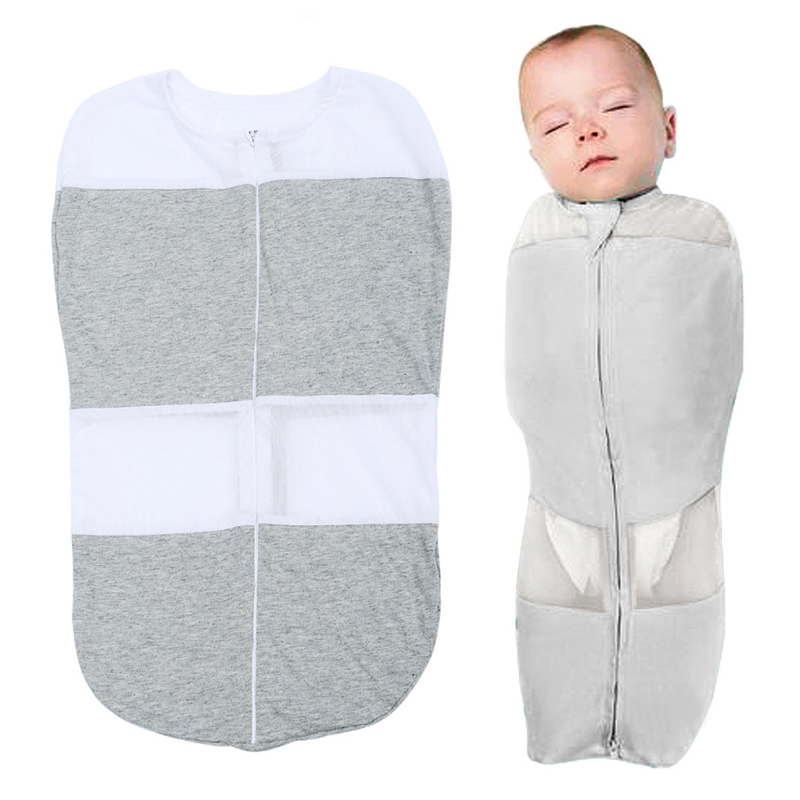 Baby Sleeping Bag Anti-turn Over Cute Sleep Sack For Newborn   Sleeping Bags Summer Towel For 0-6M Bedding Accessories