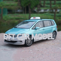 1:18 Alloy Toy Vehicles TOURAN TAXI Car Model Of Children's Toy Cars Original Authorized Authentic Kids Toys