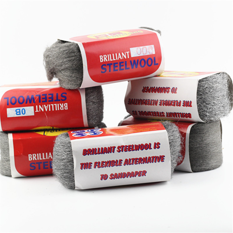 150g Brilliant Steel Wire Wool For Polishing Cleaning Removing Remover Non Crumble