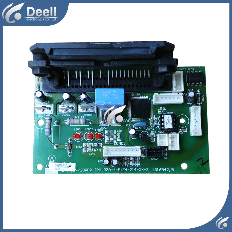 good working for air conditioning Computer board RZA-4-5174-214-XX-3 circuit board used original for air conditioning computer board control board gal0902gk 01 gal0403gk 0101 used good working
