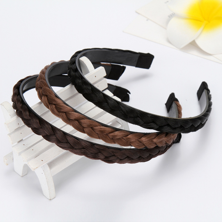 Women Fashion Hairbands Girls Hairpiece Headbands Dough-twist Style Plaits Lady Headwear Accessories