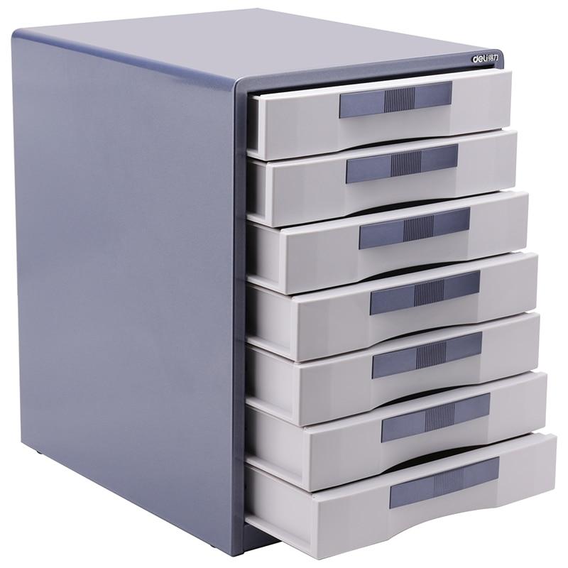 1pcs 9703 Metal File Cabinet With A Large Capacity Desktop