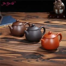 JIA-GUI LUO 140ML Yixing  Purple Clay Teapot   Tea Set Siteel  Clay Tea Pot  Traditional Chinese Tea Set  Oolong Tea H025 цена