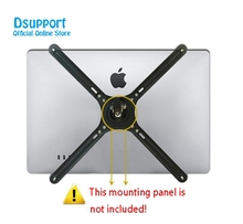 Adapter Parts Extension VESA Fixing Bracket / Monitor Holder Support for 14-27 inch No mounting Hole Monitors LCD Display Mount