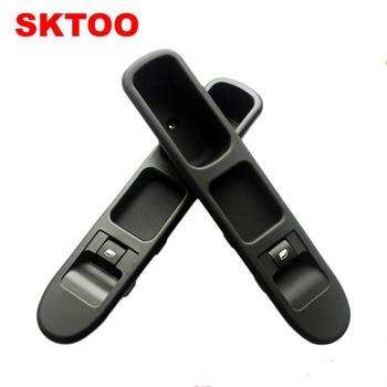 SKTOOขวาด้านหน้าสวิตช์กระจกสำหรับเปอโยต์กระจกหน้าต่างควบคุมสวิทช์2000-2013 307 307CC 307SWจัดส่งฟรี