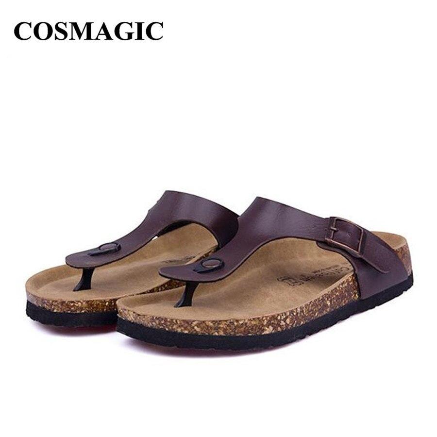 Casual Summer Beach Cork Flip Flops Slipper For Women -3757