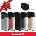 Оригинал Suorin Воздуха Вдыхание Пара Комплект 400 мАч Батареи 2 мл Картридж Простой Портативный Качественные Электронные Сигареты Kit Регулируемый Поток Воздуха