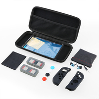 For Nintend Switch 13 In 1 Accessories Set With Carrying Bag Earphone Thumb Cap Case Screen