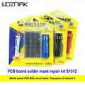 Wozniak S1512 BGA PCB Rework Leiterplatte Gewidmet UV-Licht Härtende Solder Maske Set Reparatur Werkzeug Schützen Löten Paste Kit