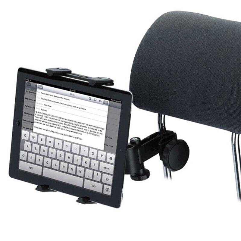 Brand New Universal Car Back Seat Headrest Tablet Mount Holder For iPad 2 3 4 Mini For Samsung Tablet PC GPS Holder Stand h29 car windshield holder swivel mount w c61 4 5 7 back clip for ipad mini tablet pc black