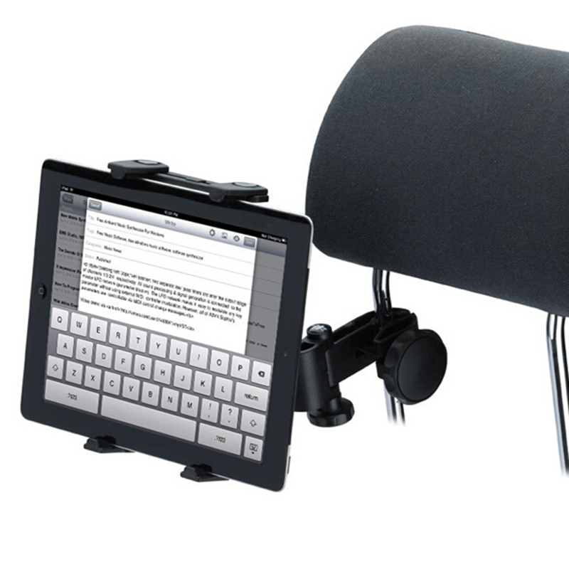 Brand New Universal font b Car b font Back Seat Headrest Tablet Mount Holder For iPad