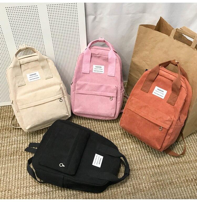 New Trend Female Backpack Fashion