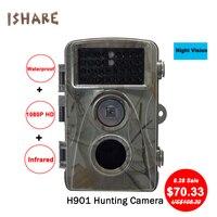 ISHARE H901 1080 P HD Trail Камера s 5MP MMS цифровой точки съемки камера TTL игры охотничьи камеры черный с ИК для полевой съёмки Камера s