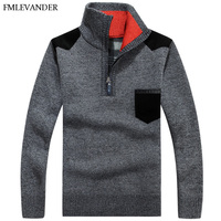 Winter Autumn Warm 2018 Thick Men Sweater Pullovers