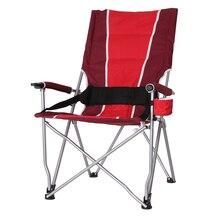 Высокая спинка/косая спинка несущая 130 кг уличное складное кресло для отдыха дикая Кемпинг Рыбалка туристическая часть пляжное кресло