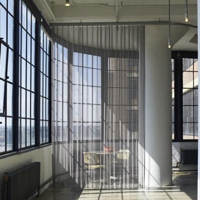Decorative Woven Metal Drapery Wire Mesh Curtain !