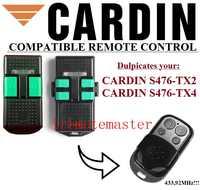 カルダンS476-TX2、S476-TX4互換リモコンの交換