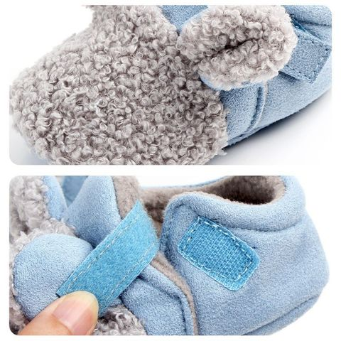 Autumn Winter Baby Cotton Shoes Baby Girls Boys Child Warm Non-slip Home Shoes Toddler Shoes First Walkers Shoes 0-18M Multan