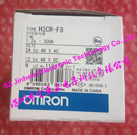 100%Authentic original H3CR F8 OMRON Time relay, Time calculator,Solid state timer 24 48VAC/12 48VDC