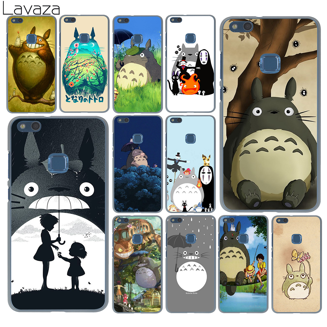Lavaza My Neighbor Arriving Totoro Outing Case for Huawei P20 P10 P9 Plus P8 Lite Mini 2 ...