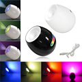 256 Colors Led Light Living Color Changeable Mood Light led with Touchscreen Scroll Bar Lamp for Christmas Wedding