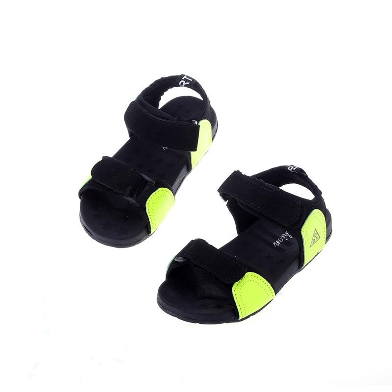 Boys Sports Sandals Girls Toe Sandals Children Slip Beach Shoes New Summer Allmatch Shoes Sandals Kids' Sneakers Shoes 2016 summer new boys and girls shoes korean sports beach sandals wear non slip