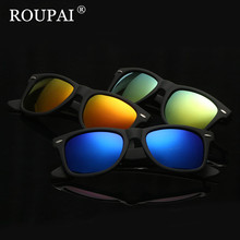 ROUPAI Brand Design High Quality Women Men Polarized Sunglasses Cool Driving Glasses Vintage Female Male Sun Glasses oculos