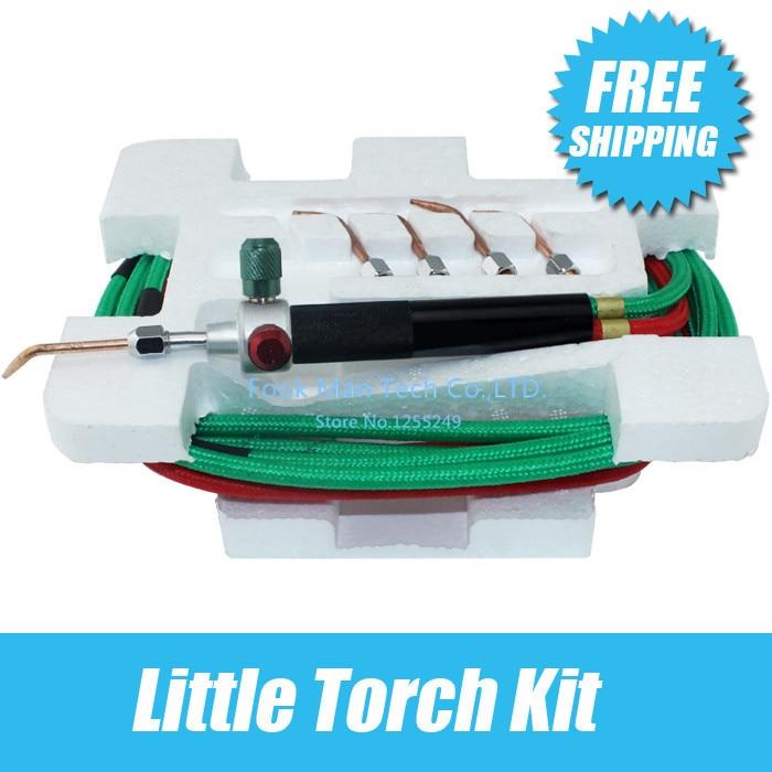 Livraison gratuite petite torche avec 5 conseils bijoux torche de soudage outils de fabrication de bijoux outil de Promotion orfèvrerie